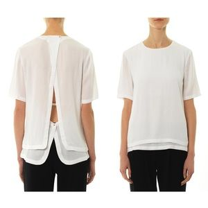 A.L.C. Open Back Layered Top